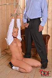 Kiara lord. Doctor Pisses on Blonde Prisoner