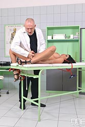 Anissa kate. Anissa Kate BDSM doctor visit