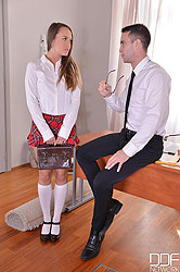 Bondage & Spanking As Higher Education: Teacher Fucks Teenager