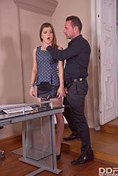 Submissive Secretary's Anal Duty