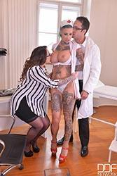 Deep Throat Prescription - Medical Threesome With Busty Dutch Milf